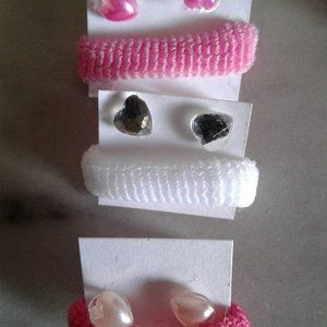 3 hair accessories sets for $3